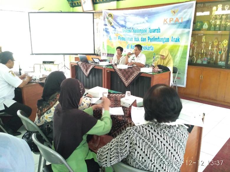Diskusi Kelopok Terarah Sistem Pemenuhan Hak  dan Perlindungan Anak