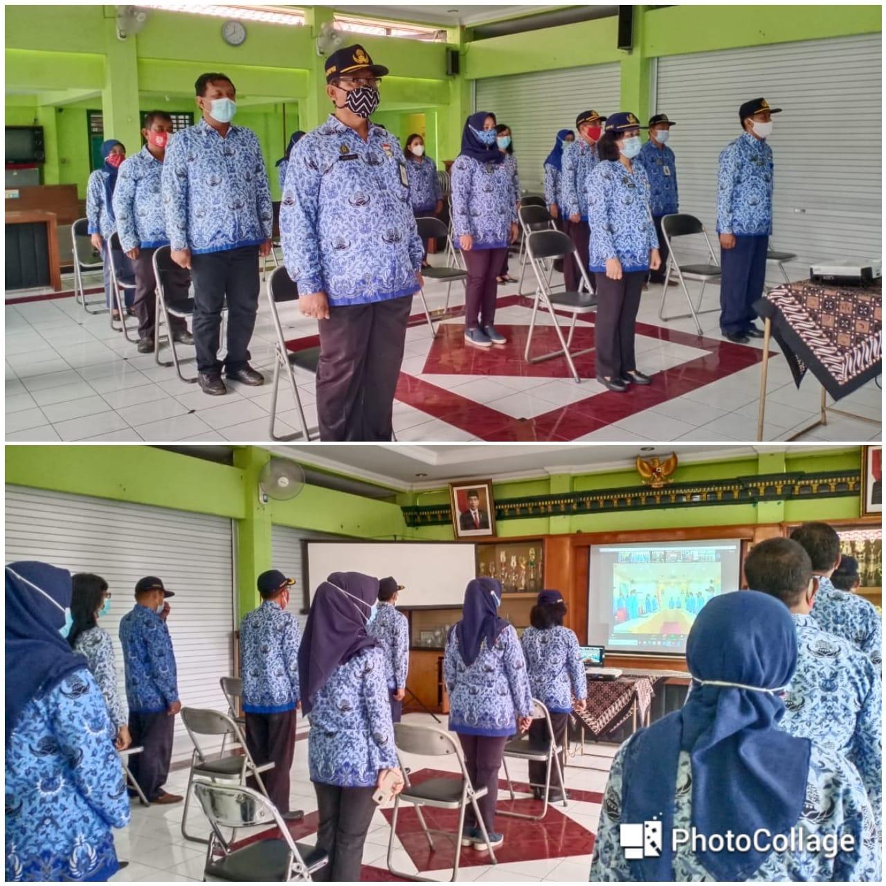 Upacara Pemerintah Kota Yogyakarta