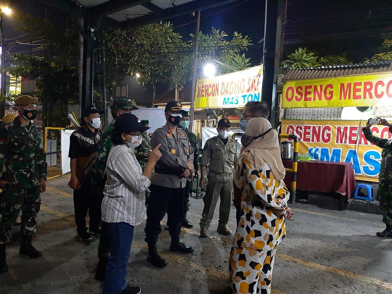 Monitoring PPKM di Wilayah Kemantren Ngampilan
