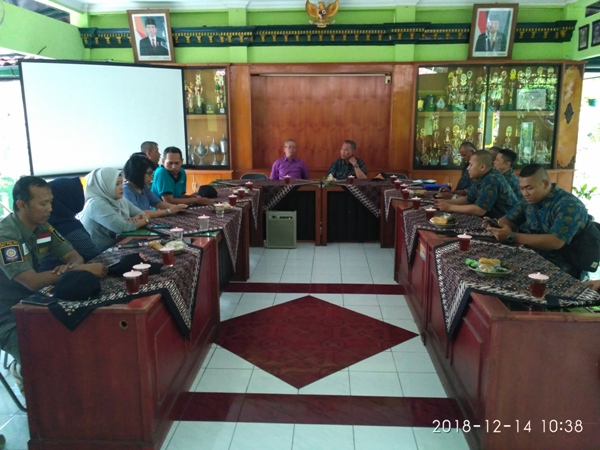 Kunjungan Kerja dari  Kecamatan Tapos , Depok Jawa Barat