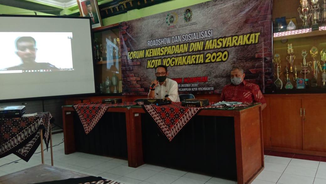 Roadshow dan Sosialisasi Forum Kewaspadaaan Dini masyarakat Kota Yogyakarta 2020