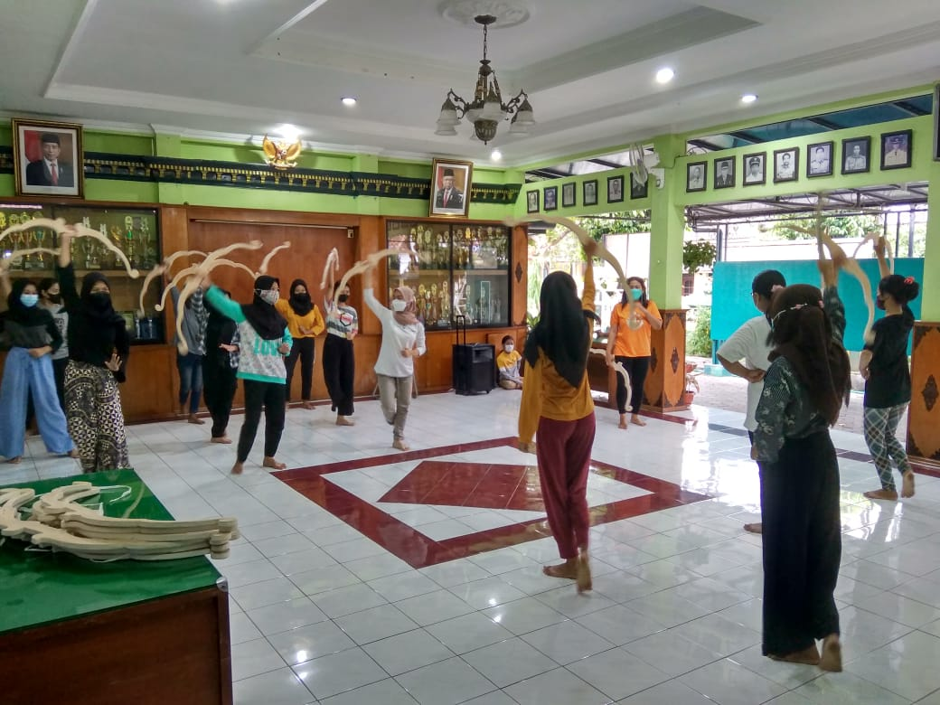 Pelatihan Tari (Sabtu, 11-09-2021)